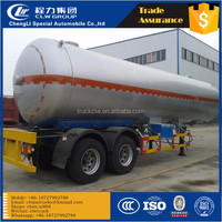Tri-axle Medium pressure Quality 52m3 LPG trailer cooking gas 3 Axle LPG semi trailer 52600L LPG tank truck trailer liquid