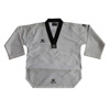 custom made wholesale taekwondo uniform breathable mesh fabric taekwondow uniform