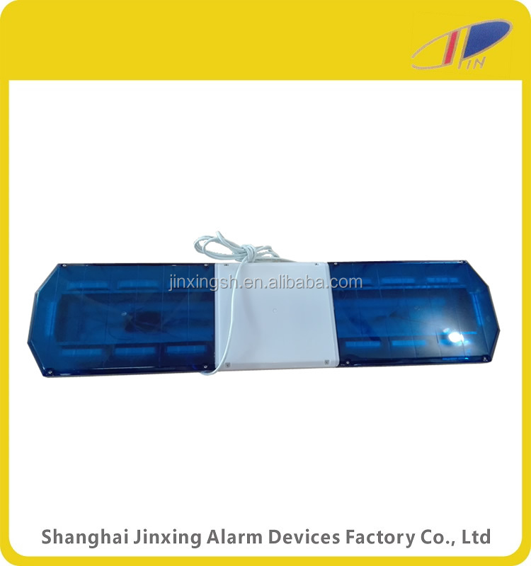 emergency vehicle lighting bars, blue ambulance warning Lightbar, led blue strobe light