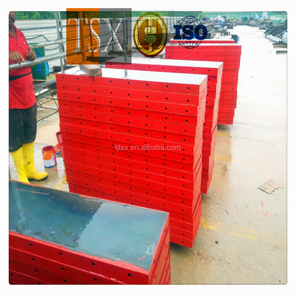 TSX-1606113 Steel Round And Rectangle Concrete Column Forms For Construction