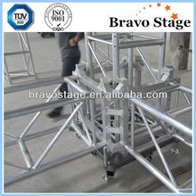 China rental truss/truss booth display/audio and light truss