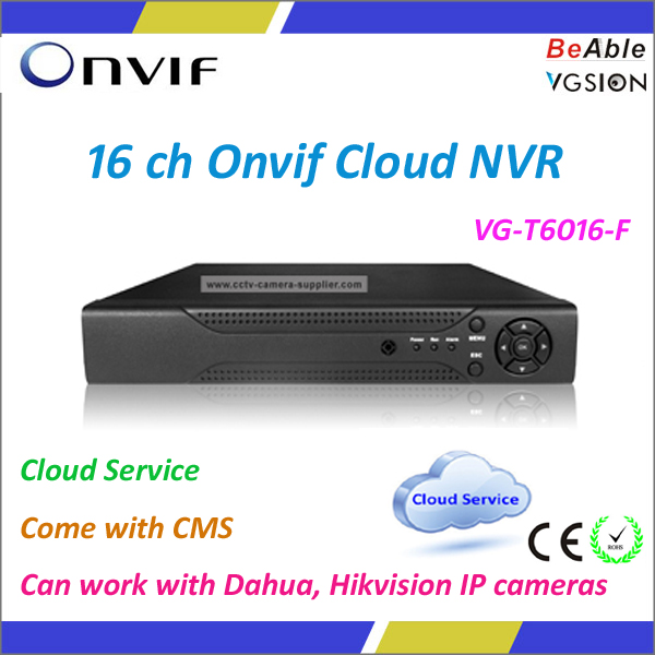 16 CH NVR 1080P Come With CMS Open Source NVR Software