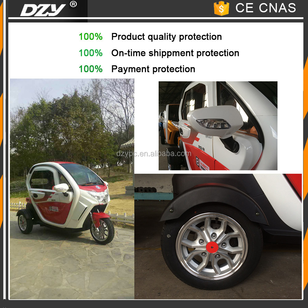 2017 new design electric tricycle for handicapped