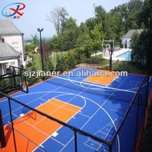 Multi Interlock Outdoor Portable Sports Flooring