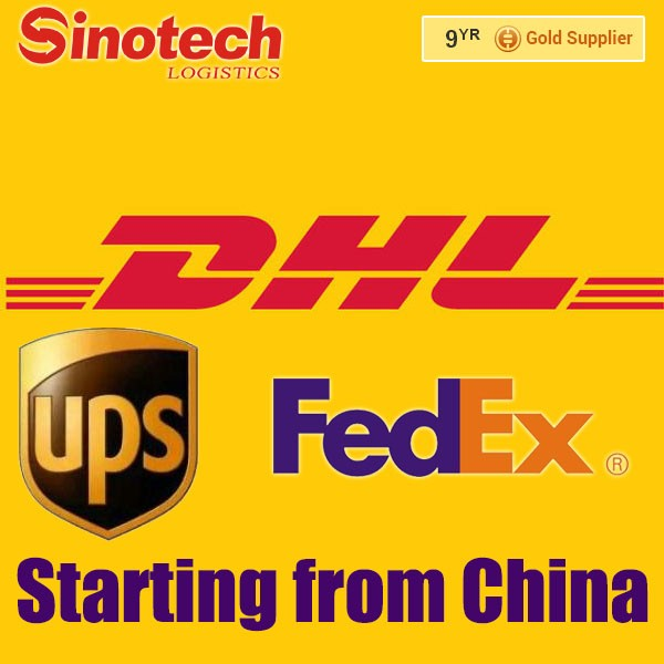 Alibaba express shipping DHL/UPS/FEDEX to Europe from China