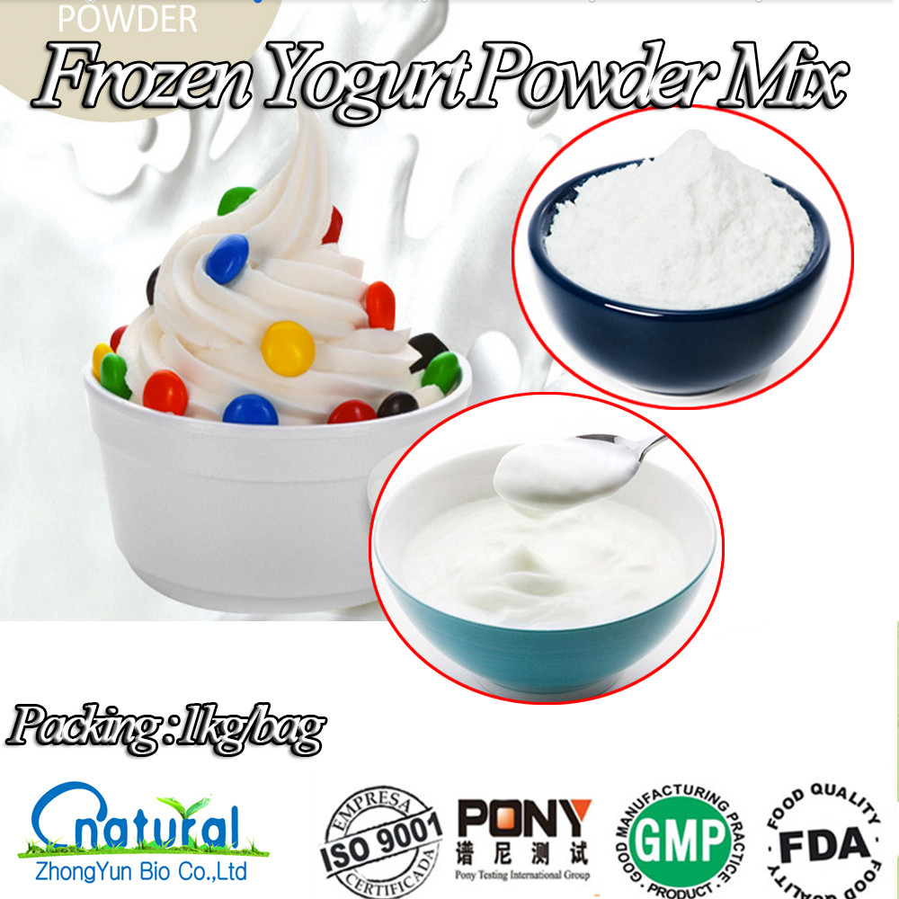 China Top Sales Frozen Yogurt Powder Mix