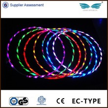 Cheap 90CM LED Hula Hoop Lights Up Hula Hoops For Health
