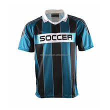 Custom breathable soccer jersey dry fit sublimation flexible soccer uniform