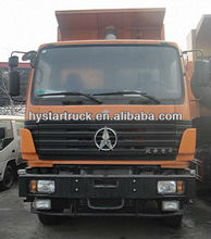 Used truck mercedes benz technology 6X4 dump truck