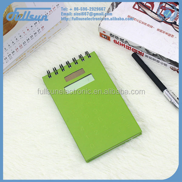 FS-226 Green leather organizer calculator wholesale