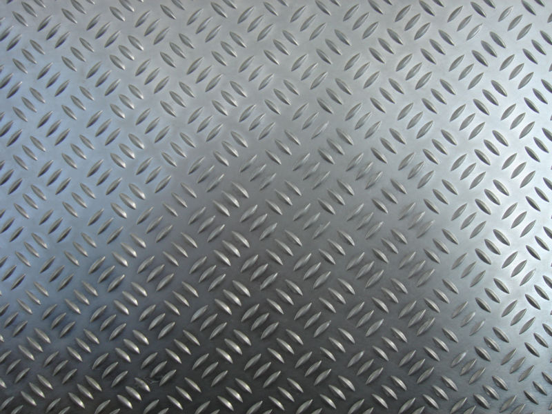 Bright Finish Aluminum Tread plate 5 bars steps and flooring