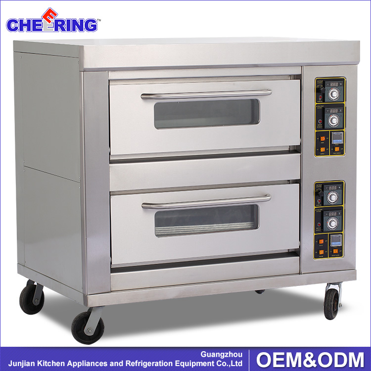 2 decks 6 trays Baking Bread /pizza Gas Oven for sale gas oven