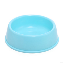 Candy Color Plastic Pet Bowl Pet Cat Dog Puppy Food Water Bowl