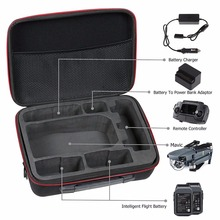 Hard EVA protective universal drone carrying case for DJI Mavic Pro & DJI Goggles