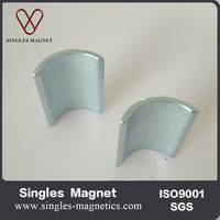 Customized n32-n52(M,H,SH,UH,EH) strong neodymium arc segment magnets