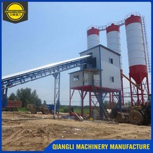 Manufacturers Stationary Belt Type Wet Ready Mix Concrete Batching Plant