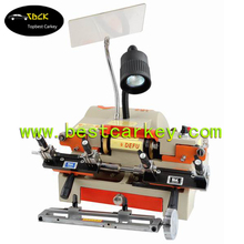 Top quality computerized key cutting machine for DEFU 100E1 key making machine 220V transponder chip key clone