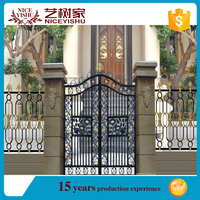 aluminium or metal outdoor laser cut fence panels/laser cut main gate designs