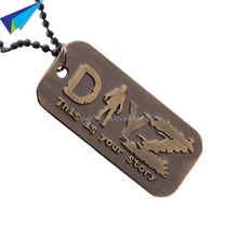 Most popular military id tags with necklace