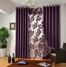 Newest Design Blackout Polyester Window Curtain