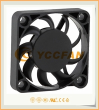 5vdc micro mini small cooling fan 40*40*07mm with 3.3v low voltage UL CE approval