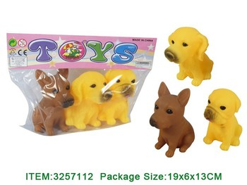 Hot Sale Vinly Animal Squeeze Toys With Whistle