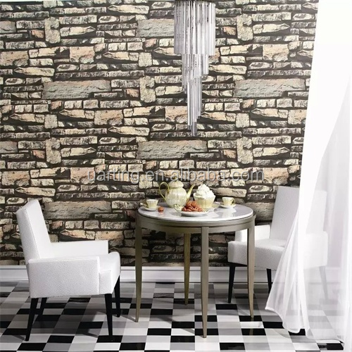 2016 latest distributor wanted korean brick vinyl wallpaper, wallpaper 3d