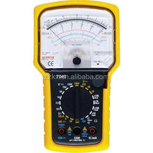 20 Ranges 4 Functions Analog Multimeter 1000V AC/DC Voltmeter DC Current Tester 7040