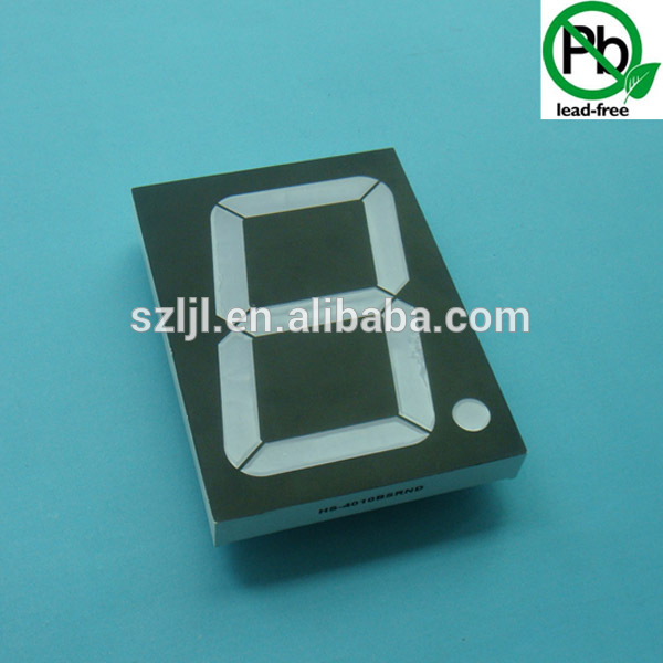 "Best price 4"" inch 1 Digit 7 seven Segment Purple LED Numeric Digital Display, Common Anode"