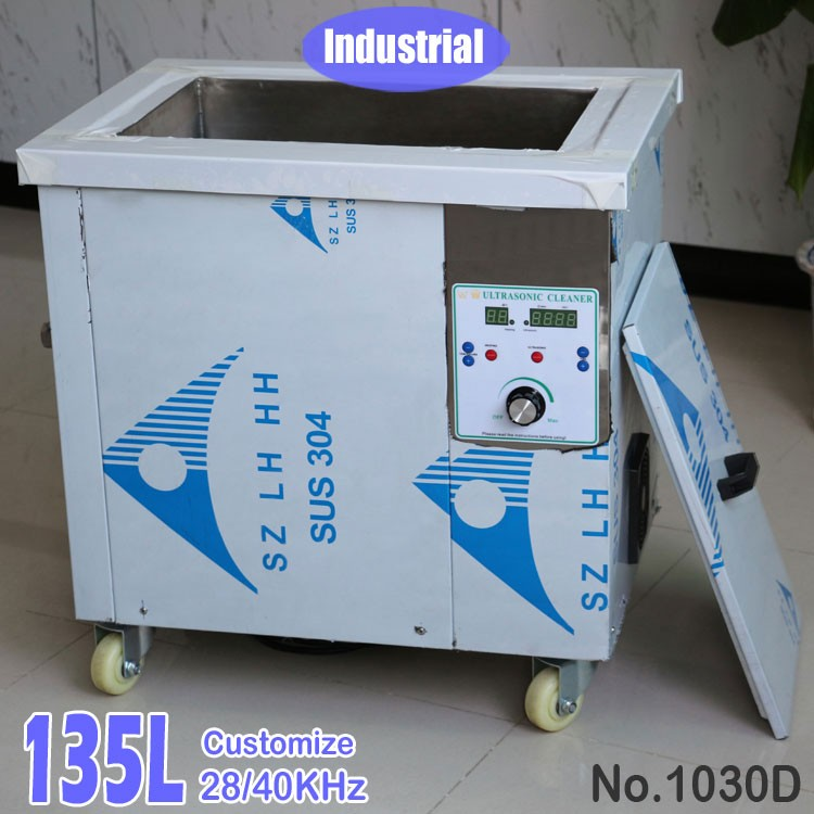 135L Large Stainless Steel Tank Industrial Ultrasonic Cleaning Machine