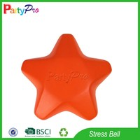 Partypro High Quality New 2015 PU Color Change Star Shaped Stress Ball