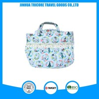 Promotional fashion canvas printed material tote bags