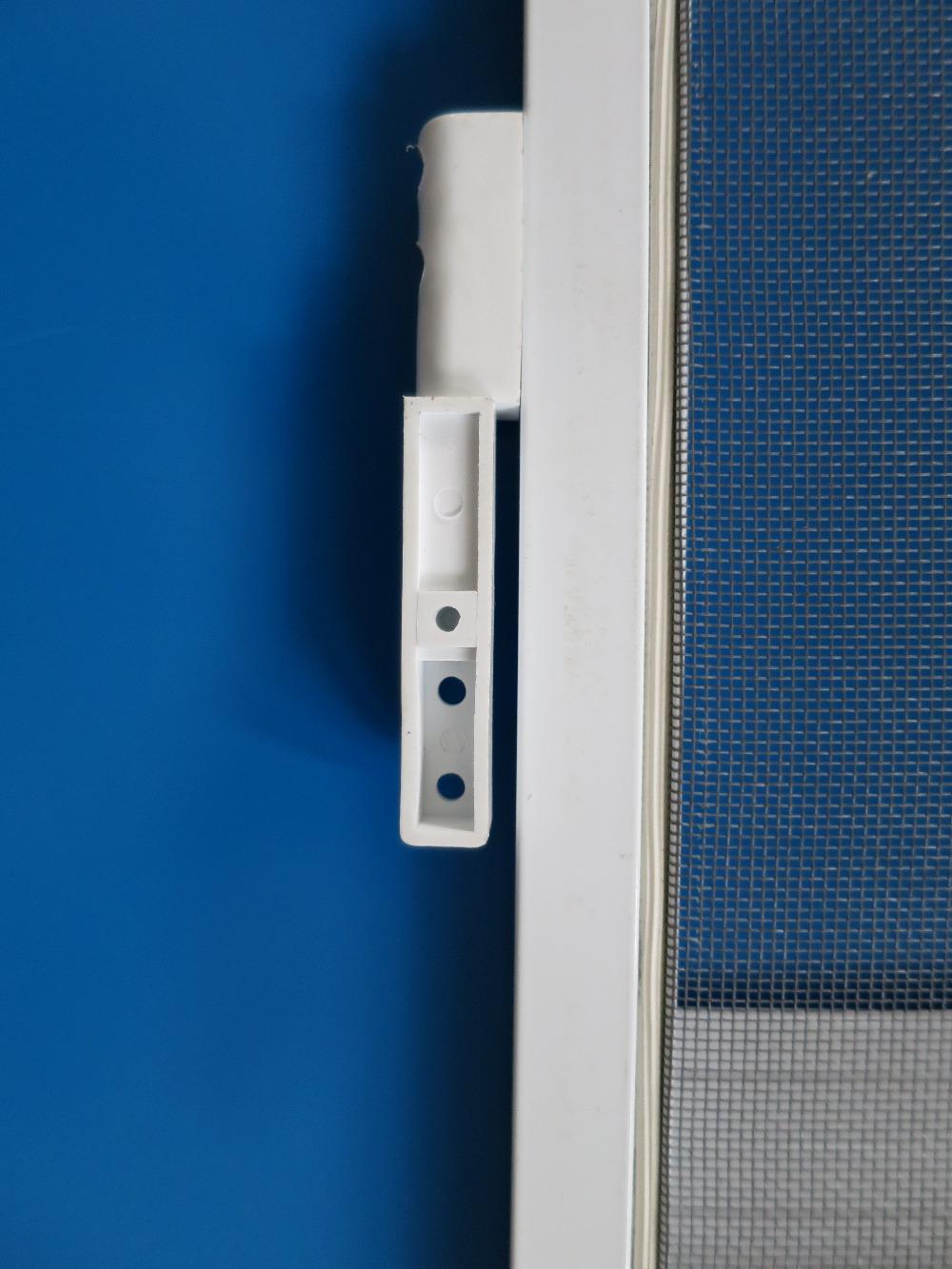 Gold supplier china pvc insect screen door buy pvc for Screen door frame