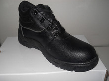 black steel toe insert basic version Durable safety work shoes for factory plant