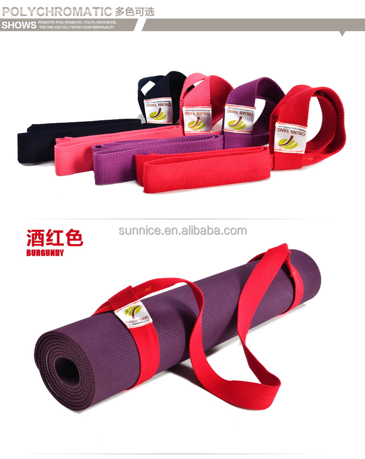 Low price hot sell yoga blocks mat strap
