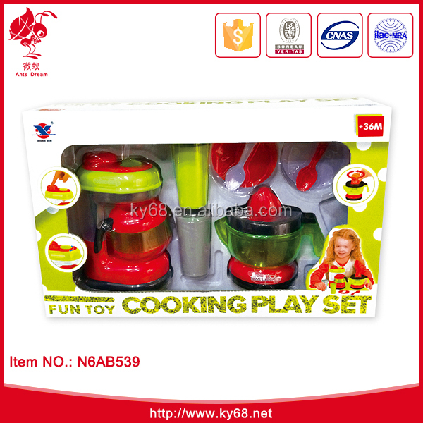 B/O electric plastic toy Kids kitchen toy Play tea set