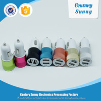 Mini car battery charger and dual promotional usb car charger for all the smart machine