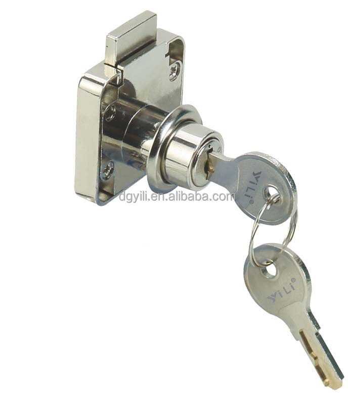 Pedestal /Multipurpose Lock laser key/drawer lock/computer key lock/furniture lock