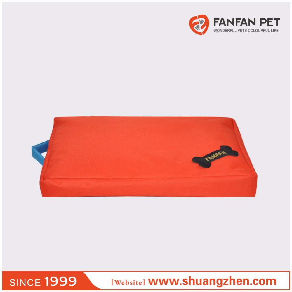 Custom colorful dog mattress waterproof dog bed