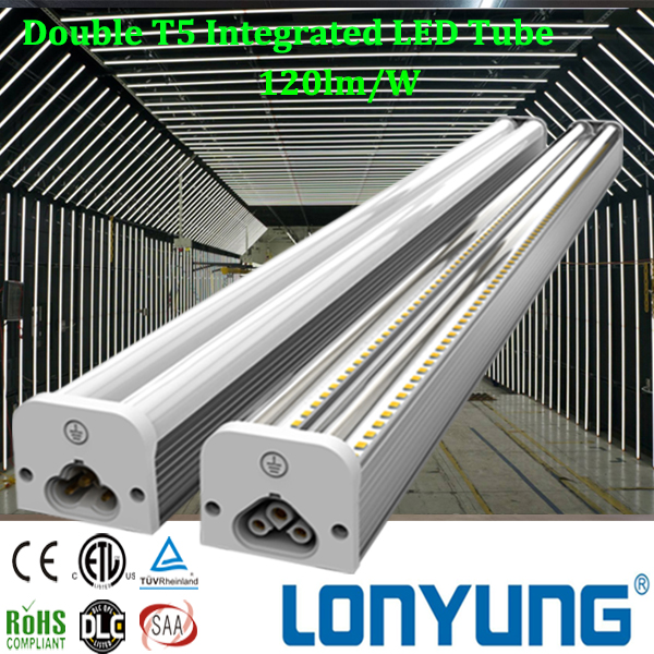 Hight quality SAA led tube lights 4ft 5ft 6ft 7ft 8ft t5 tube led fluorescent light for factory lighting