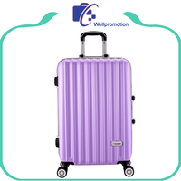 abs / polycarbonate trolley luggage with spinner wheels