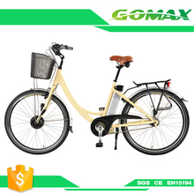 Hybrid Bikcity E 36V 350W High Power Mini Lady Electric Bicycles Bike