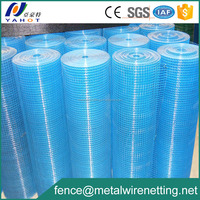 welded mesh type and square hole shape pvc coated welded wire mesh