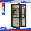 High quality cheap fashionable single-leaf aluminum doors exterior