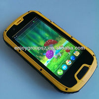4.3'' WCDMA+GSM 3G NFC smartphone android mobile phone cover IP68 2016 Hot sale Original rugged waterproof cell phone