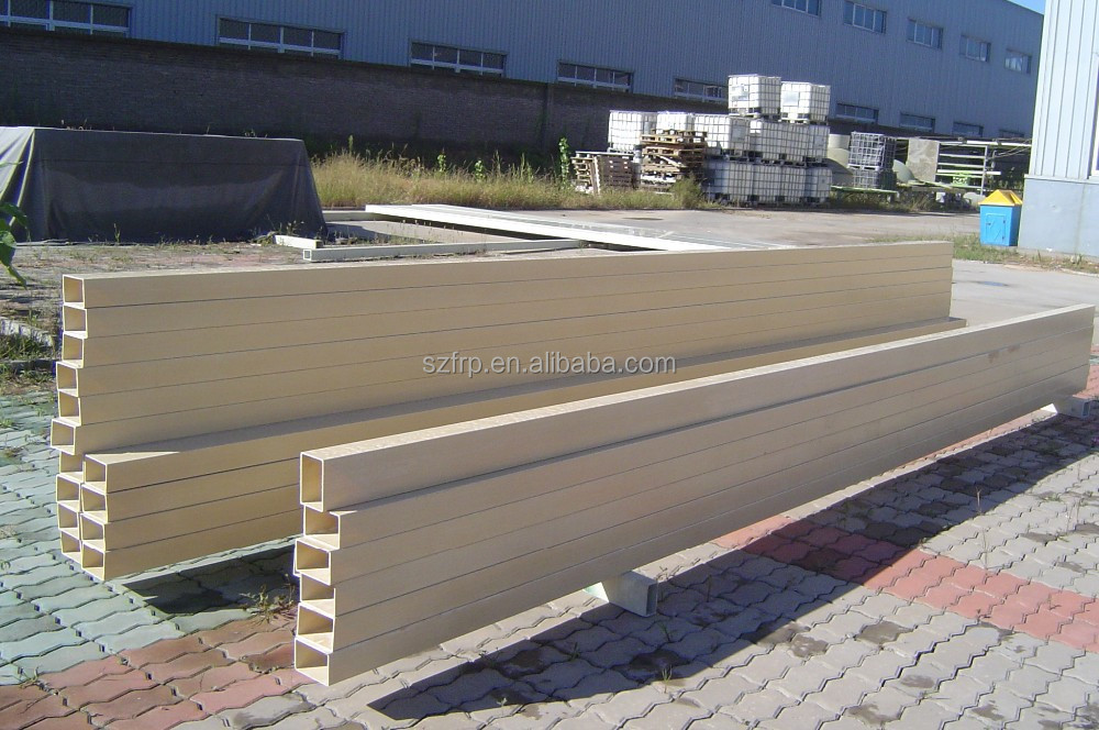 residential building, office building, hotel, and high building Application and natural Surface Treatment GRP rain gutter pipe