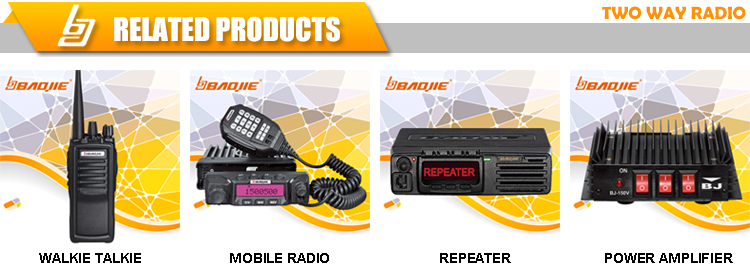 BAOJIE BJ-450U 50W Power Ham Radio Linear Amplifier UHF