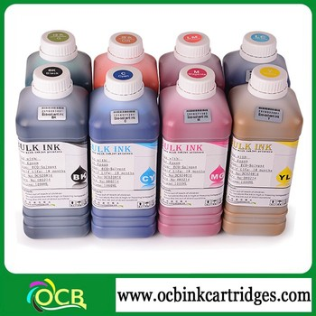 Ocbestjet solvent ink for xaar print head