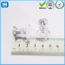 Clear Faceted Small Drawer Knob Pull Handle Jewelry Box