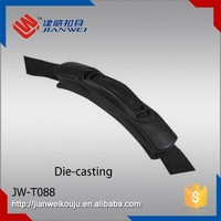 JW-T088 New style die casting PVC handle for luggage carry